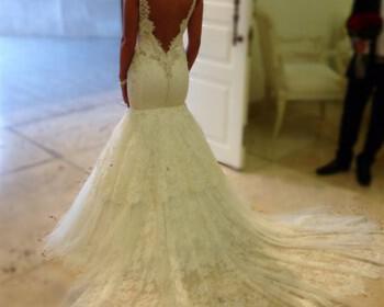 gorgone nifiko 6 350x280 - Νυφικά φορέματα σε γοργονέ στιλ