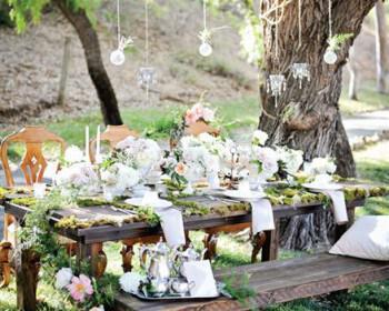 rustic diakosmisi gamou 3 350x280 - Rustic διακόσμηση για έναν γάμο στην εξοχή