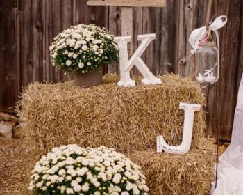 diakosmisi gamou se kipo 1 350x280 - Διακόσμηση κήπου για country γάμο
