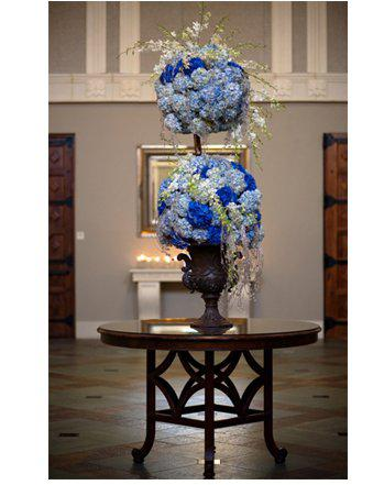 Χρώμα γάμου μπλε – στολισμός, ιδέες