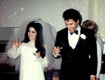 nifiko vintage styl dekaetia 50s 60s νυφικό Elvis και Priscilla Presley