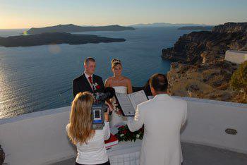 wedding santorini caldera gamos γαμος Σαντορίνη