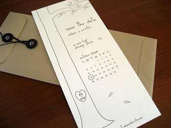 prosklitirio gamos prosklisi Save the date wedding invitation